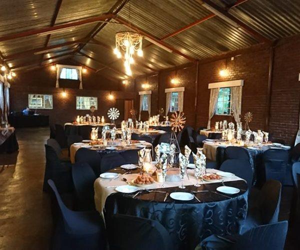 Tarlton Gardens Wedding Venue - Table Settings